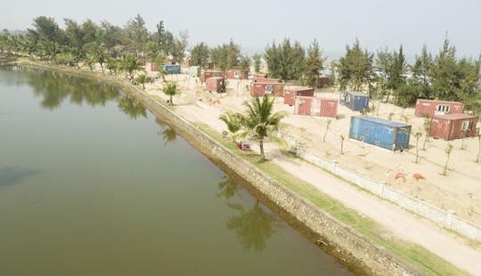 """Hà Tĩnh: Nhà nghỉ container """"xâm chiếm"""" rừng phòng hộ"""