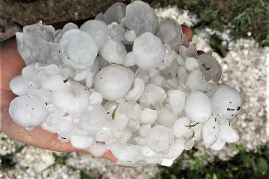 Không khí lạnh tăng cường, Bắc Bộ đề phòng mưa đá, lốc sét