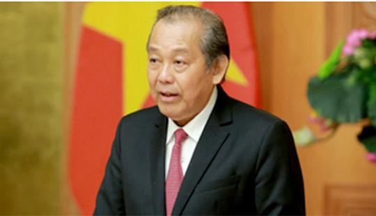 Phó Thủ tướng Thường trực Trương Hòa Bình làm Trưởng ban Ban Chỉ đạo 896