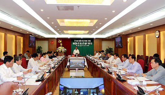 Ủy ban Kiểm tra Trung ương đề nghị thi hành kỷ luật ông Lê Thanh Hải
