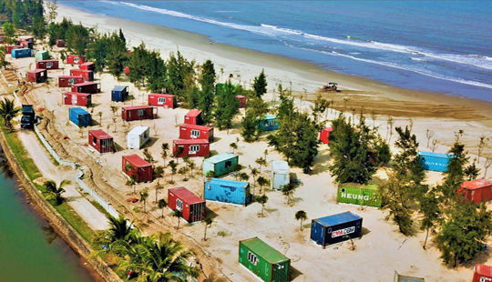 Xử phạt Công ty dựng nhà nghỉ container xâm chiếm rừng phòng hộ