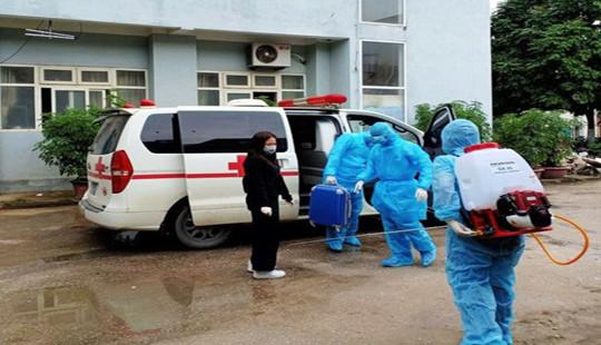 Bắc Giang: Cách ly 3 người tiếp xúc với lái xe chở nữ bệnh nhân nhiễm Covid-19