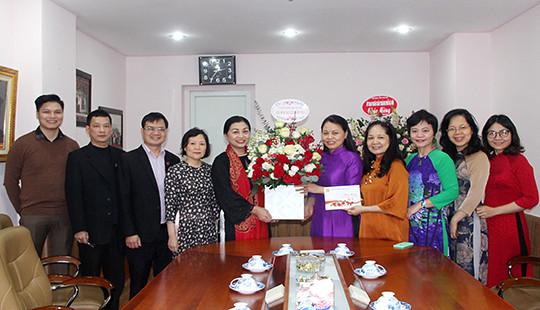 TANDTC chúc mừng Hội Liên hiệp Phụ nữ Việt Nam nhân ngày 8/3