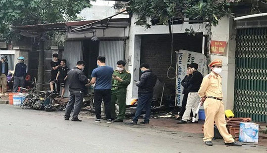 Cháy nhà bán vật liệu xây dựng, 3 người tử vong thương tâm