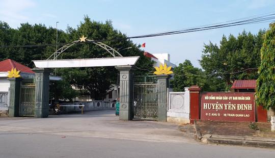 Huyện ủy, UBND huyện Yên Định bị tố mắc nợ hơn 50 tỷ