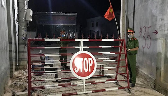 Ninh Thuận: Cách ly thôn Văn Lâm 3, nơi có bệnh nhân thứ 61 mắc Covid-19