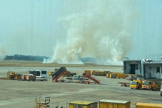 Thông tin chính thức vụ bốc khói tại sân bay Tân Sơn Nhất