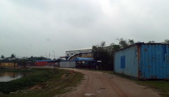 Nhà máy may xây dựng không phép trên đất nông nghiệp