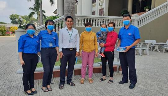 Chi đoàn TAND tỉnh Tây Ninh chủ động trong công tác phòng chống dịch Covid - 19