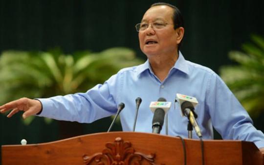Cách chức Bí thư Thành ủy TP.HCM nhiệm kỳ 2010-2015 đối với ông Lê Thanh Hải