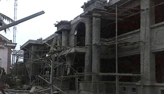 Tai nạn tại công trình đang xây dựng, 1 người tử vong