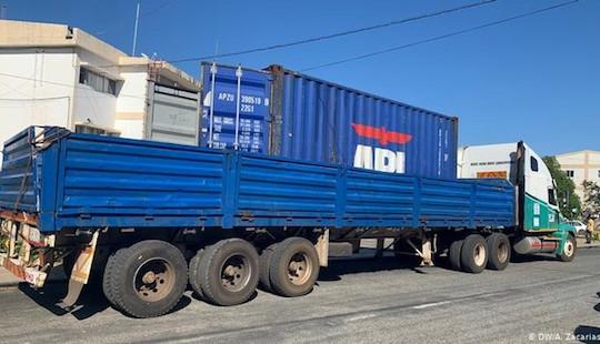 Phát hiện 64 thi thể trong xe tải đến Mozambique