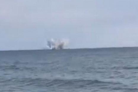 Chiến đấu cơ Su-27 của Nga bị rơi