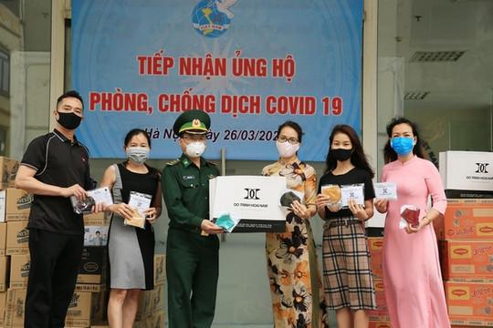 NTK Đỗ Trịnh Hoài Nam chung tay chống dịch Covid-19