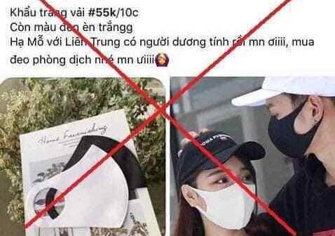 Hà Nội: Xử lý người phụ nữ tung tin về Covid-19 để bán khẩu trang