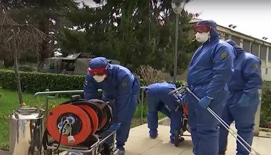 """Nga cử các chuyên gia tới """"tâm dịch"""" của Covid-19 ở Italia"""