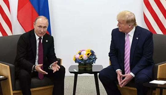 Tổng thống Nga Vladimir Putin và Tổng thống Mỹ tổ chức điện đàm