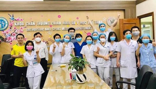 Dịch Covid-19: Gỡ bỏ phong tỏa tại Bệnh viện Xanh Pôn
