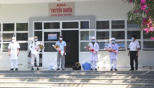 2 bệnh nhân Covid-19 ở Ninh Thuận được xuất viện