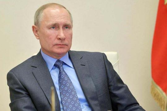 """Tổng thống Putin gia hạn thời gian """"không làm việc"""" trên toàn nước Nga"""