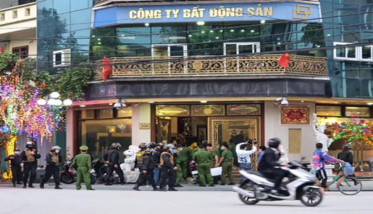 Khám nhà đại gia Thái Bình: Điều tra hành vi cố ý gây thương tích