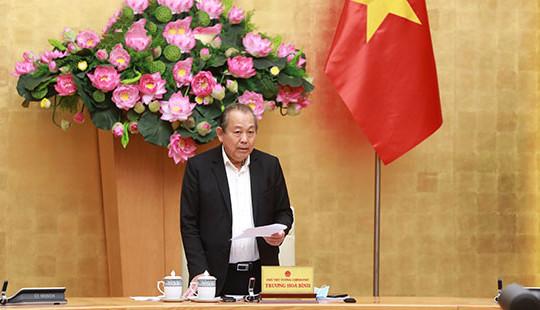 Phó Thủ tướng Trương Hòa Bình: Tập trung 8 nhiệm vụ trọng tâm trong năm cuối thực hiện Đề án 896