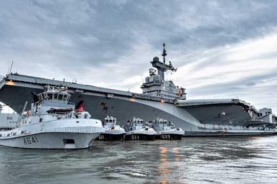 Tin vắn thế giới ngày 9/4: 40 thủy thủ tàu sân bay duy nhất của Pháp nghi nhiễm Covid-19