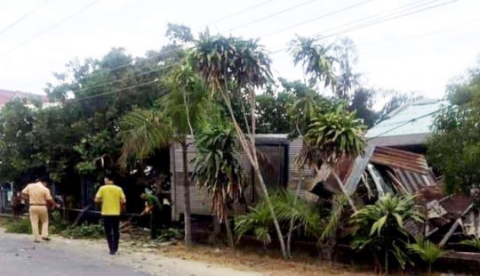 Đi tập thể dục, 3 người bị xe tải tông thương vong