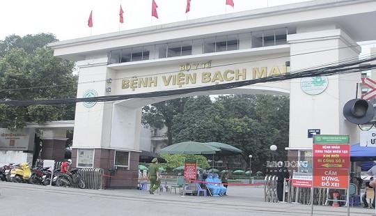 Làm rõ việc tụ tập đông người, không đeo khẩu trang ở bệnh viện Bạch Mai