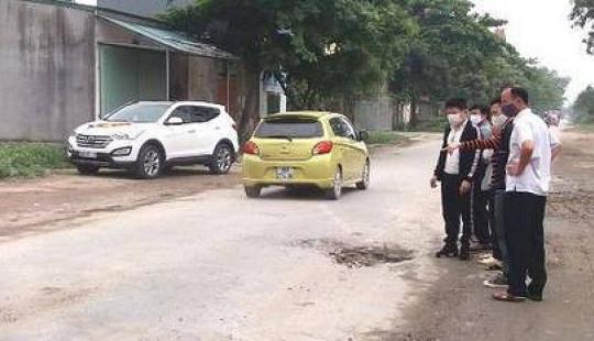 Nữ công nhân bị xe bồn cán tử vong trên đường đi làm