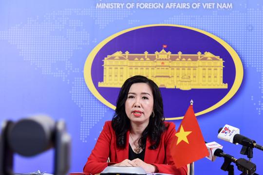 """Việt Nam phản đối mạnh mẽ việc thành lập cái gọi là """"thành phố Tam Sa"""""""
