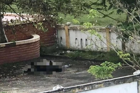 Phát hiện thi thể cháy đen trong nghĩa trang liệt sĩ