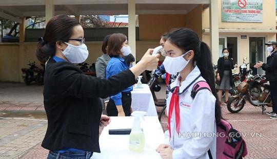 Gần 45.000 học sinh Hải Phòng trở lại trường học
