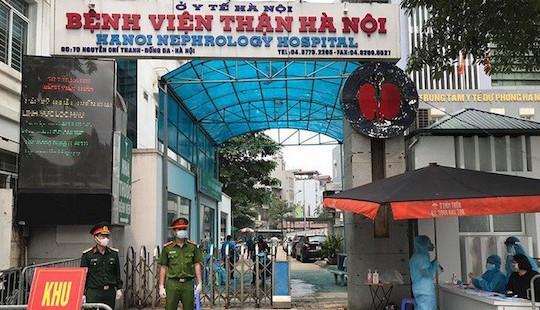 Gỡ phong tỏa Bệnh viện Thận Hà Nội