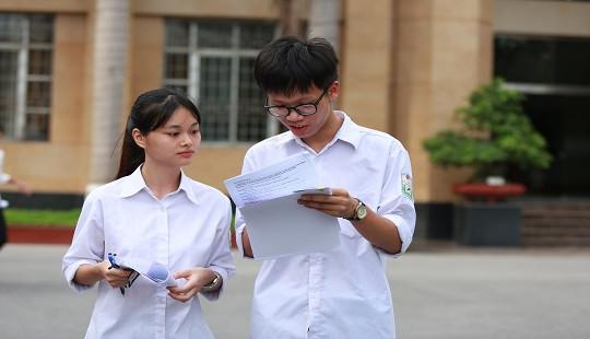 Kỳ thi THPT năm nay giữ nguyên ba đầu điểm của bài thi tổ hợp