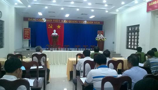 TAND tỉnh Tây Ninh họp xét giảm thời hạn chấp hành án tù cho phạm nhân