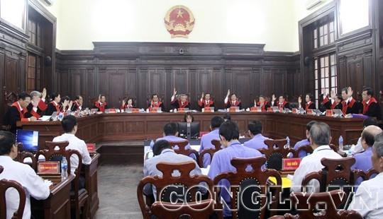 Hội đồng Thẩm phán TANDTC biểu quyết bác kháng nghị giám đốc thẩm vụ án Hồ Duy Hải