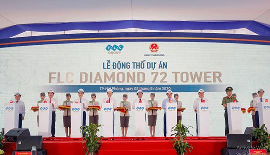 Tập đoàn FLC động thổ tòa nhà cao Top 3 Việt Nam tại Hải Phòng