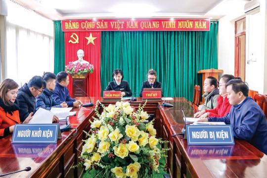 """TAND hai cấp tỉnh Điện Biên: Xây dựng hình ảnh người cán bộ Tòa án """"Phụng công, thủ pháp, chí công, vô tư"""""""
