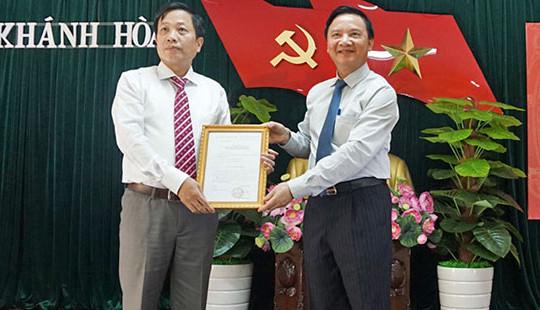 Ban Bí thư điều động Ủy viên UBKT Trung ương làm Phó Bí thư tỉnh Khánh Hòa