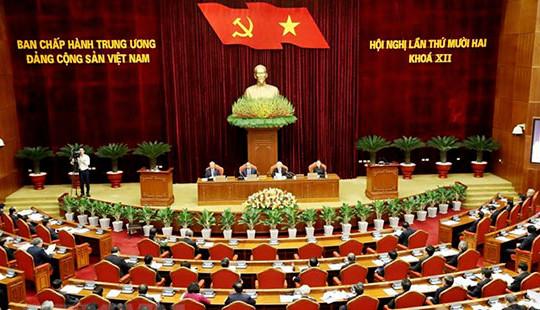 Khai mạc trọng thể Hội nghị lần thứ 12 Ban Chấp hành Trung ương Đảng