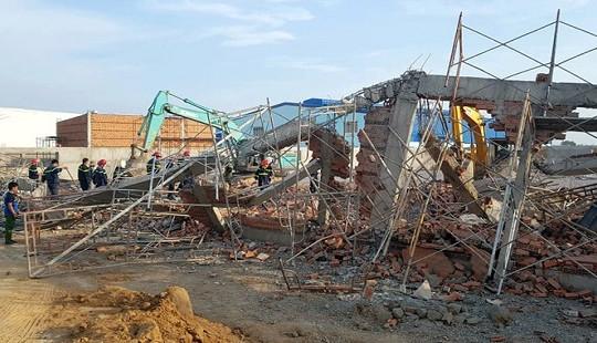 Thủ tướng yêu cầu điều tra vụ sập công trình ở Đồng Nai