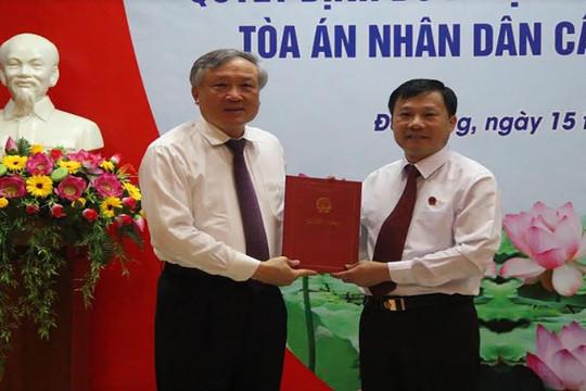 Trao quyết định bổ nhiệm Phó Chánh án TAND cấp cao tại Đà Nẵng