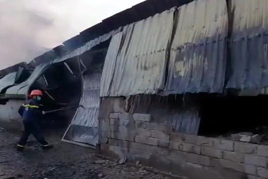 Bà hoả thiêu rụi xưởng sản xuất bật lửa