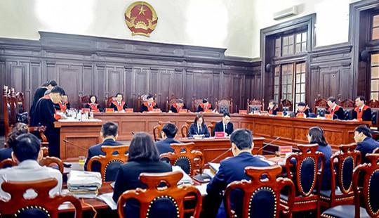 Một số vấn đề nghiệp vụ từ các phiên tòa tháng 4/2020 của Hội đồng Thẩm phán