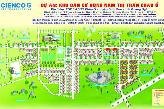 Tổng công ty Cienco 5 vi phạm hàng loạt quy định khi thực hiện dự án Khu dân cư Đông Nam