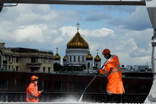 Kinh tế Nga sụt giảm 9,5% trong quý II do ảnh hưởng của Covid-19