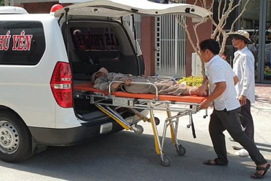 Sập giàn giáo công trình nhà ở, 4 thợ xây bị thương