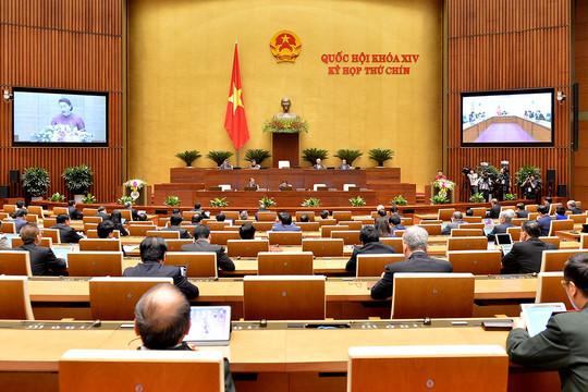 Truyền hình trực tiếp Quốc hội thảo luận việc thực thi chính sách phòng, chống xâm hại trẻ em