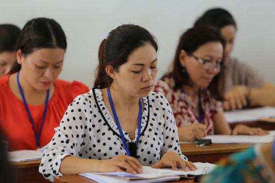 Chấm thi tự luận tại kỳ thi tốt nghiệp THPT năm 2020 được quy định như thế nào?